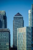 Londons Canary Wharf Royalty Free Stock Images