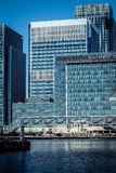 Londons Canary Wharf Royalty Free Stock Photography