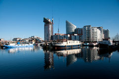 Londons Docklands. Stock Photography