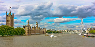 Londons Fluss Themse Stockfotos