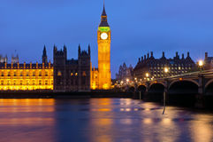 Londons Houses of Parliament Royalty Free Stock Photography