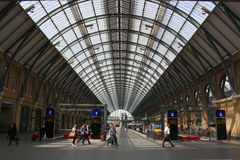 Londons Kings Cross Railway station Stock Photography