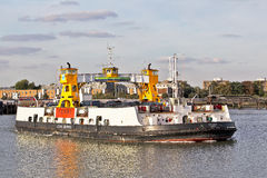 Londons public transport ferry Royalty Free Stock Images