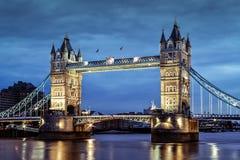 Londons Turm-Brücke, Großbritannien Stockfotografie