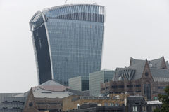 Londons Walkie Talkie Royalty Free Stock Photography