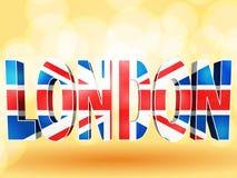 LondonUnion Jack Lizenzfreies Stockfoto