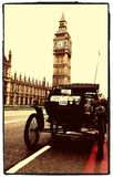 Londra all'esecuzione dell'automobile del veterano di Brighton fotografie stock