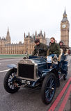 Londra all'esecuzione dell'automobile di Brighton Fotografia Stock