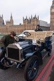 Londra all'esecuzione dell'automobile di Brighton Fotografia Stock Libera da Diritti