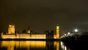 Londra alla notte Fotografia Stock Libera da Diritti