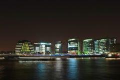 Londra alla notte Immagini Stock Libere da Diritti