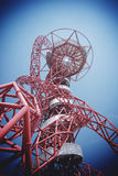 LONDRA - 5 APRILE Il Arcelor Mittal Orbit Fotografie Stock