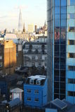 Londra blu Immagini Stock Libere da Diritti