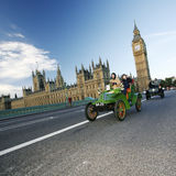 2014, Londra a Brighton Veteran Car Run Fotografia Stock