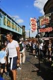 Londra Camden Market Fotografie Stock Libere da Diritti