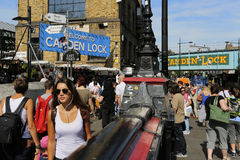 Londra Camden Market Fotografia Stock