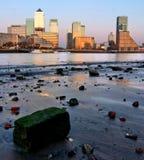 Londra Canary Wharf fotografie stock