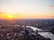 Londra centrale ad ovest Fotografie Stock