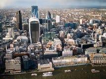 Londra centrale orientale Fotografia Stock