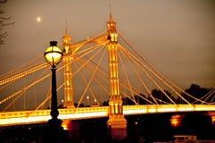Londra Chelsea che sogna tramonto Fotografia Stock Libera da Diritti