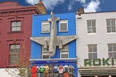 Londra - CIRCA ottobre 2011: Camden Town Fotografia Stock