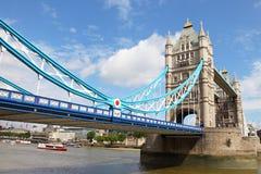 Londra dal Tamigi Fotografia Stock