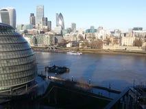 Londra de Peisaj Fotografia de Stock