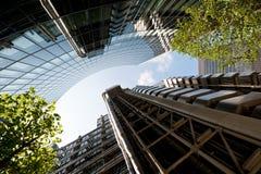 Londra di costruzione corporativa, Regno Unito Fotografia Stock