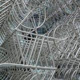 LONDRA - 20 DICEMBRE: Nuova scultura di Forever di Ai Weiwei fuori di Lond Immagine Stock Libera da Diritti