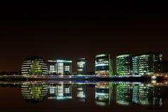 Londra entro la notte Fotografia Stock Libera da Diritti