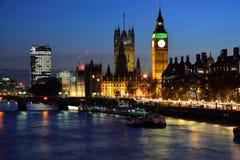 Londra entro Night Immagine Stock
