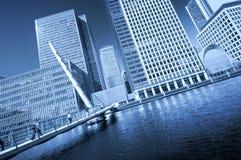 Londra futuristica Immagini Stock