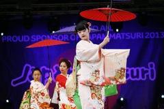 2013, Londra Giappone Matsuri fotografia stock