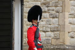 Londra - 1° giugno: Soldato britannico in servizio Immagine Stock