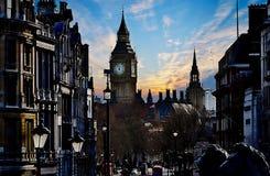 Londra - la Gran Bretagna Vista di Big Ben Fotografia Stock Libera da Diritti