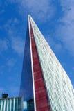 LONDRA - 30 LUGLIO: Nuova costruzione fuori di Victoria Train Station i Fotografia Stock