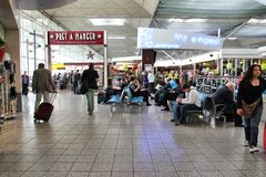 Aeroporto di Londra Standsted Immagini Stock