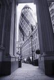 Londra moderna Fotografie Stock Libere da Diritti