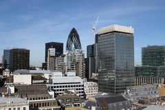 Londra moderna immagini stock