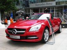 Londra Motorexpo 2011 - codice categoria dello slk di Mercedes Immagine Stock