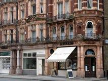 Londra, negozi del distretto di Mayfair Immagini Stock Libere da Diritti
