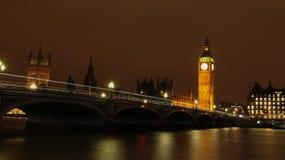 Londra (notte) Fotografia Stock Libera da Diritti