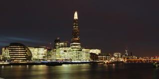 Londra (notte) Fotografie Stock