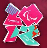 Londra Paralympics 2012 Fotografia Stock Libera da Diritti