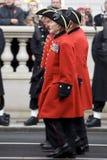 Londra - parata di ricordo Fotografia Stock Libera da Diritti