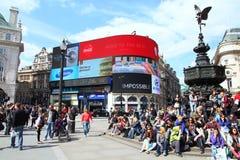 Londra Piccadilly Fotografia Stock
