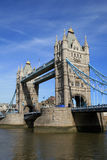 Londra. Ponticello della torretta fotografia stock libera da diritti