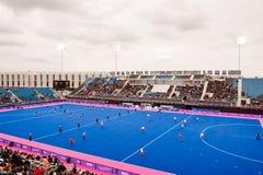 Londra prepara: Eventi olimpici della prova Immagine Stock Libera da Diritti