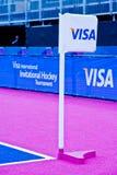 Londra prepara: Eventi olimpici della prova Fotografie Stock