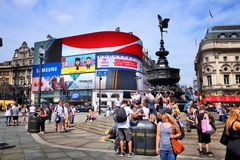 Londra Regno Unito Fotografia Stock Libera da Diritti